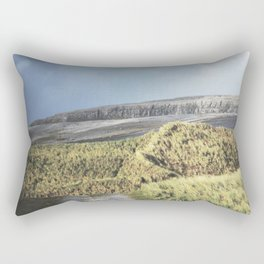Tuft and Stone - Landscape Photography Rectangular Pillow