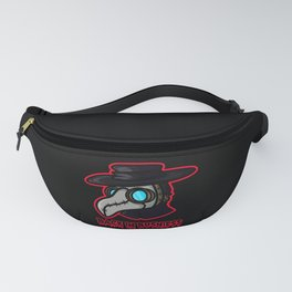 Plague Doctor Back In Business Fanny Pack