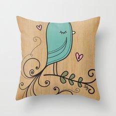 Ladybird Throw Pillow