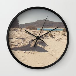 Sand stone sea Wall Clock