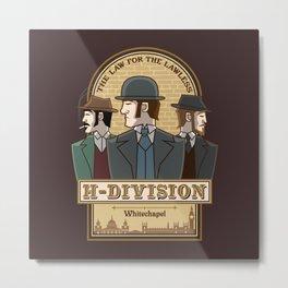 H-Division  Metal Print