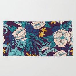 Jungle Pattern 003 Beach Towel