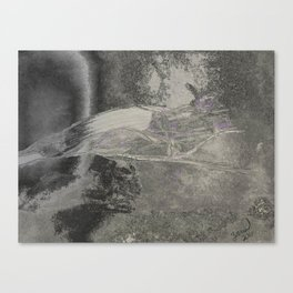 PurpleGlitter Canvas Print