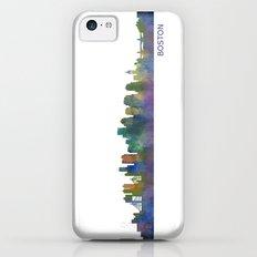 Boston Massachusetts City Skyline Hq V1 Slim Case iPhone 5c