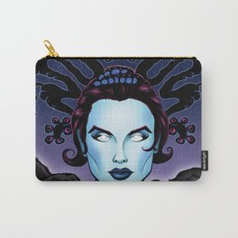 Female Space Alien  Carry-All Pouch