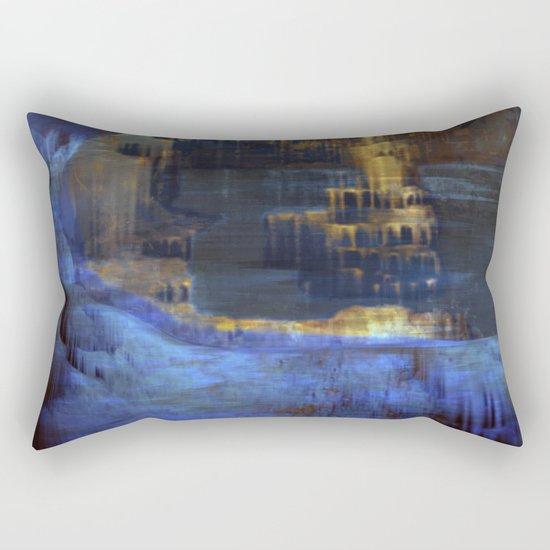 Cave 03 / The Interior Lake / wonderful world 10-11-16 Rectangular Pillow