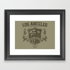 Los Angeles Eagles Framed Art Print