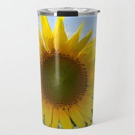 Kansas Bright and Colorful Sunflower Travel Mug