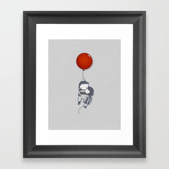 Grab On Framed Art Print