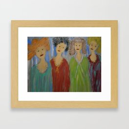 """Kindred Spirits"" Framed Art Print"