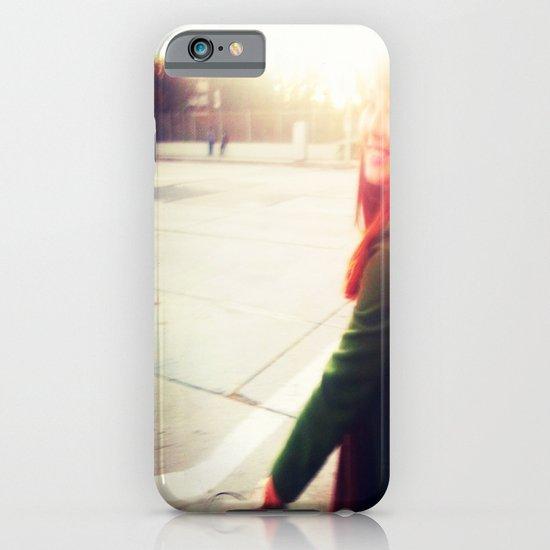 Autumn Bike Ride iPhone & iPod Case