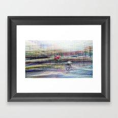 And the longer you linger, the linger you long. 14 Framed Art Print