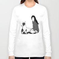 elmo Long Sleeve T-shirts featuring ELMO & Tara by Michel Toral