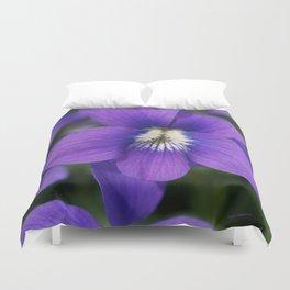 Violets Are Not Blue Duvet Cover