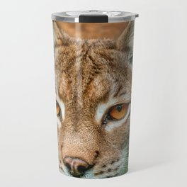 LYNX PORTRAIT Travel Mug