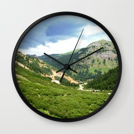 """Chattanooga Loop"" as Seen from the Silver Crown Mine Wall Clock"