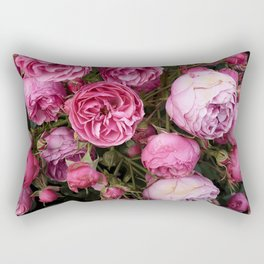Victorian Roses Rectangular Pillow