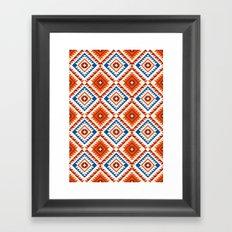 Navajo Five Framed Art Print