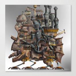 Howling Castle Canvas Print