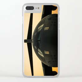 American Military Aircraft Clear iPhone Case
