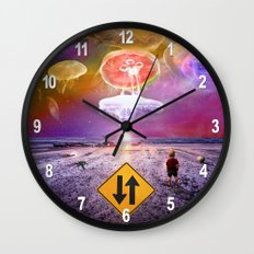 The Day of the Jellies Wall Clock