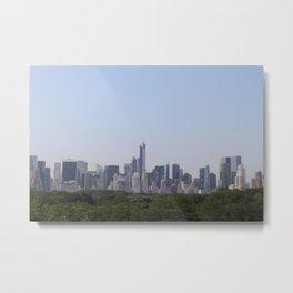 New York City cityscape Metal Print