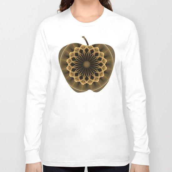 Trendy graphic flower mandala Long Sleeve T-shirt