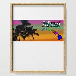 Maui Sunset Serving Tray