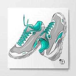 Sneakers Metal Print