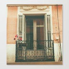 Balcon Canvas Print