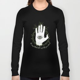 Adam, The Magician - The Raven Cycle Long Sleeve T-shirt