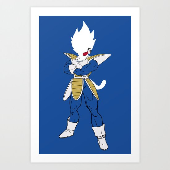 Suit Up Vegeta by chrispanda