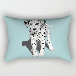 Dalmatian Puppy Rectangular Pillow