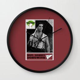 Donowitz Ball Card Wall Clock