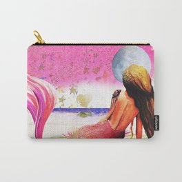 Black Mermaids Carry-All Pouch
