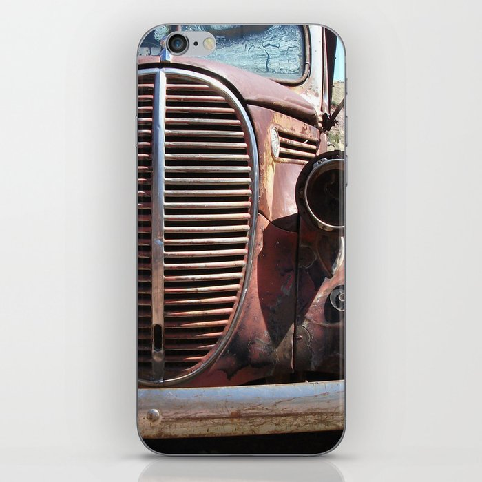 Truck Grill, Old Truck, Old Truck Grill iPhone Skin