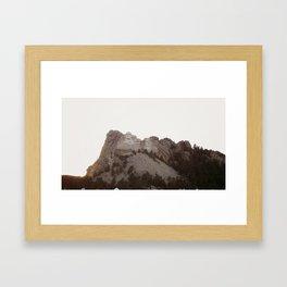 Grand Rushmore Framed Art Print
