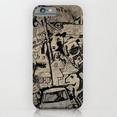 Berlin Street Art concrete Slim Case iPhone 6s