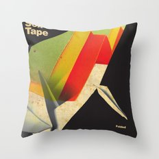 Origami Sex Tape Throw Pillow