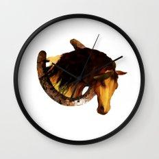 HORSE - Choctaw ridge Wall Clock