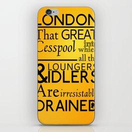 Holmesian London iPhone Skin