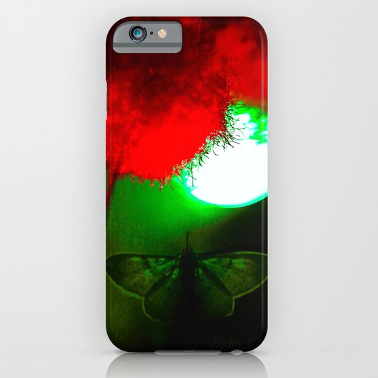 night butterfly iPhone & iPod Case