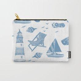 sea pattern modern art Carry-All Pouch