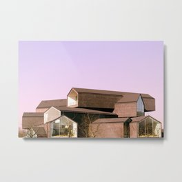 Stack Houses Metal Print