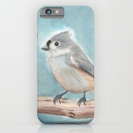 Tufted Titmouse iPhone Case