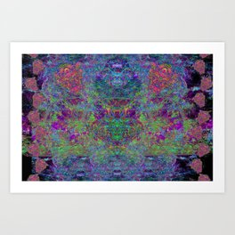 Stream of Cyclops From Wizard's Mind Art Print