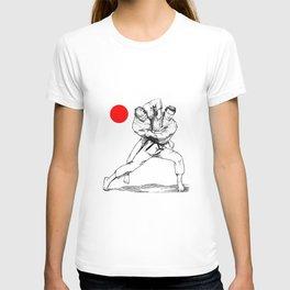 Judo tai otoshi T-shirt