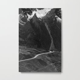 Roads of Bolivia Metal Print