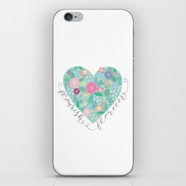 Flourish - Florecer iPhone Skin