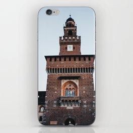 Sforza castle in Milan iPhone Skin